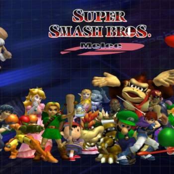 Super Smash Bros. Melee portada