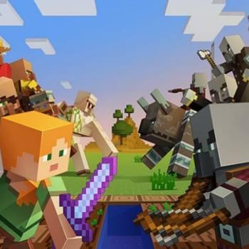 Actualización aldeas & saqueadores de Minecraft