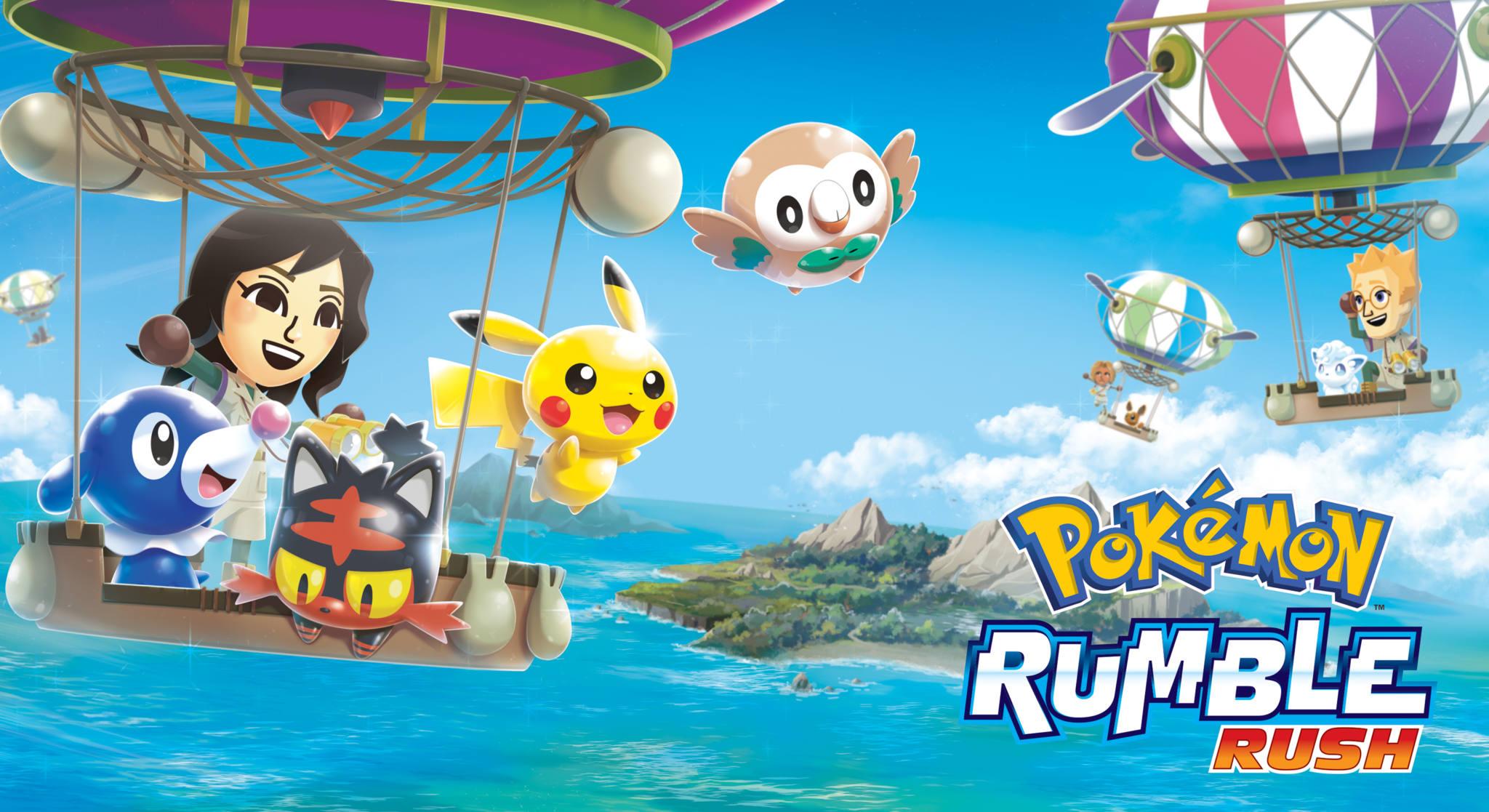 Pokemon Rumble Rush ya disponible en Android
