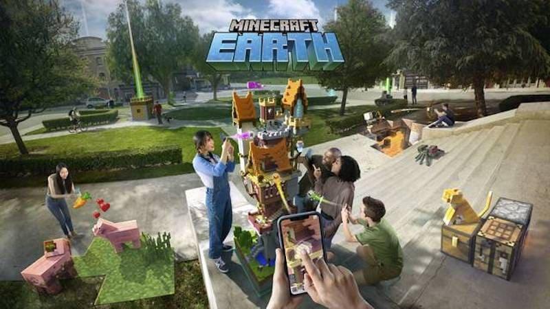 """Minecraft Earth"""