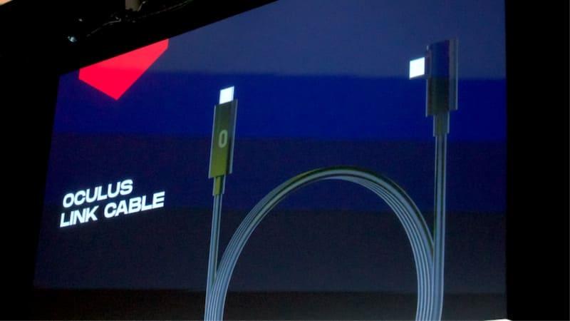 Cable para conectar las gafas a PC.