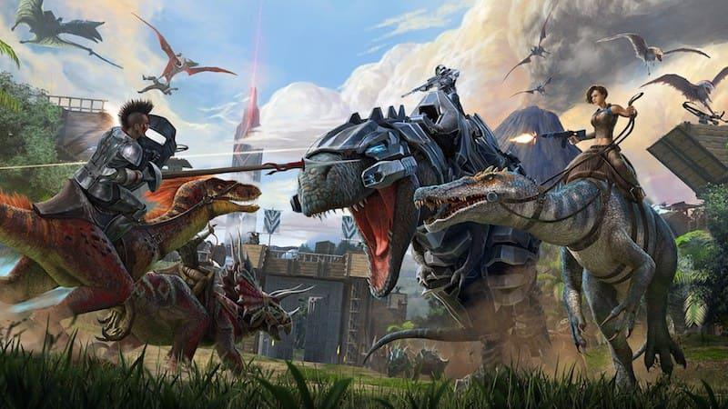 "Te enseñamos a jugar con tus amigos en ""Ark: Survival Evolved"""